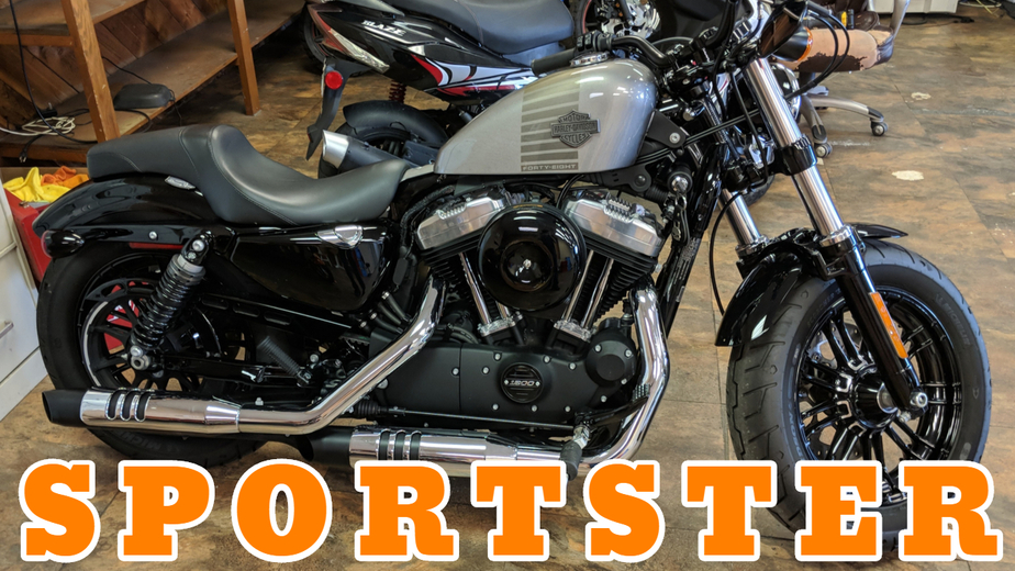 Rent Harley Davidson - Harley Davidson Sportster Forty Eight Motorcycle Rental in Panama City Beach - Outlaw Rentals