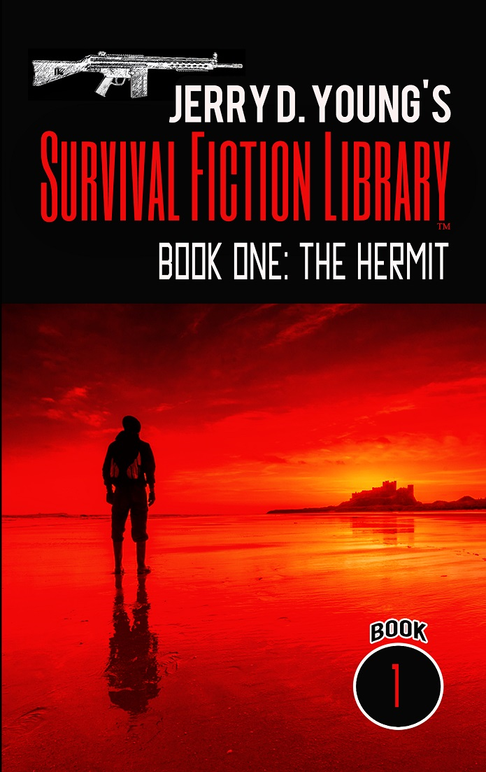 """Jerry D. Young Survival Fiction Library """"Book One: The Hermit"""""""