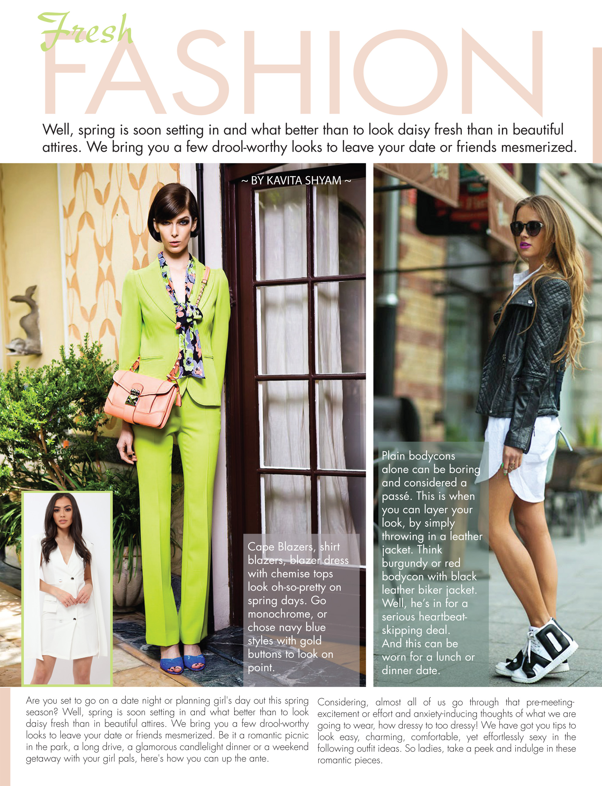 Fresh Fashion By Kavita Shyam