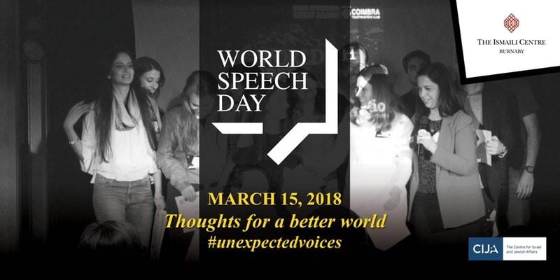 World Speech Day March 15