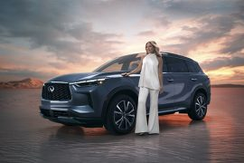 All-new 2022 INFINITI QX60 Makes a Global Hollywood Entrance Actor