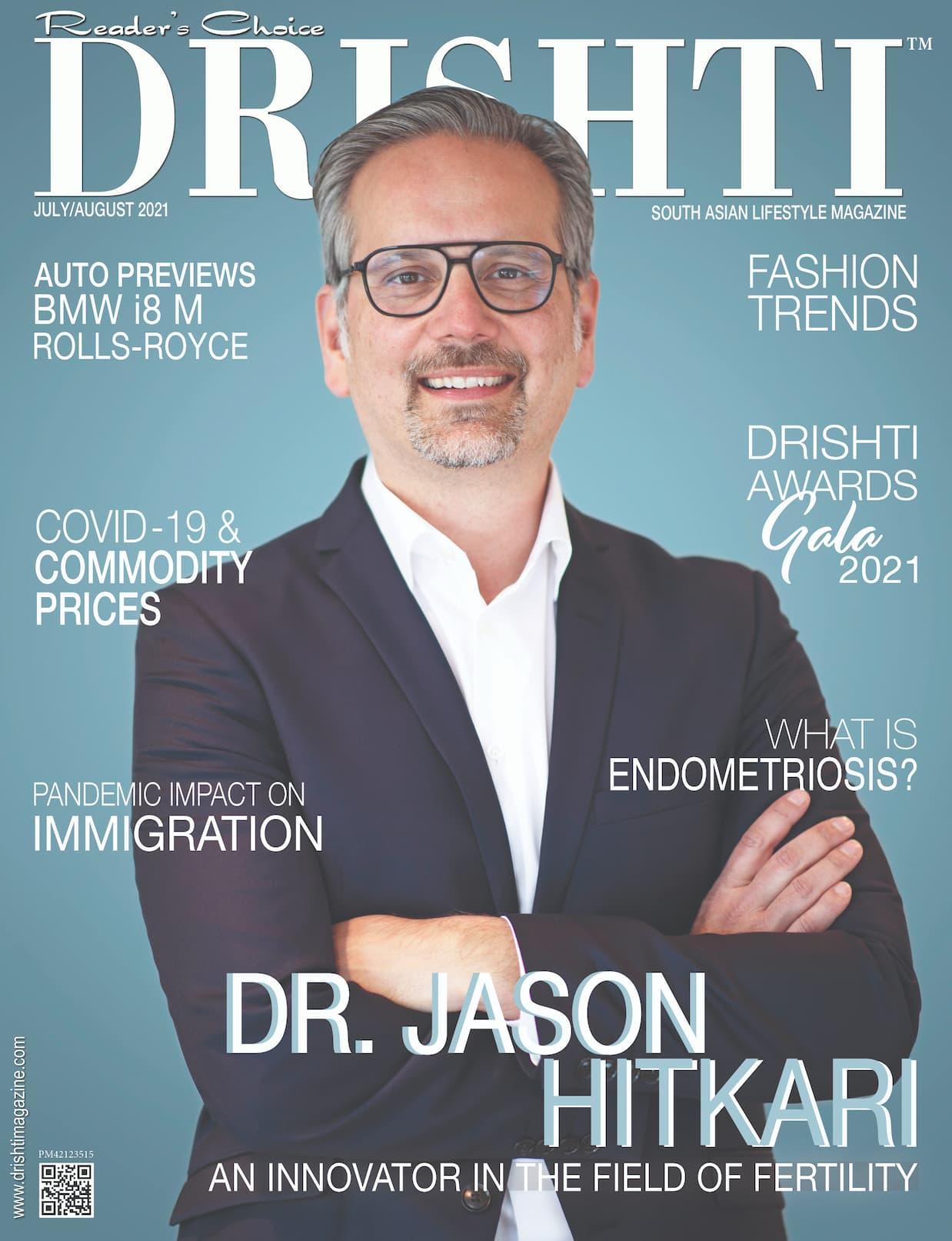 Drishti Magazine Cover July August 2021