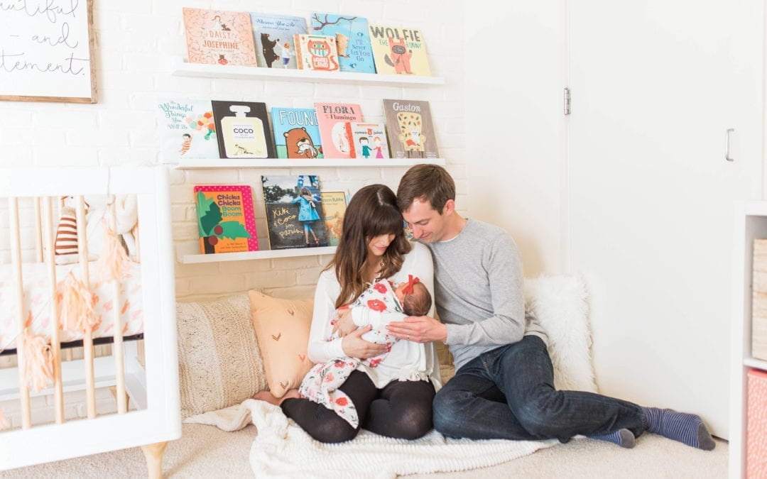 Lifestyle Newborn Session | Michigan Newborn Photographer