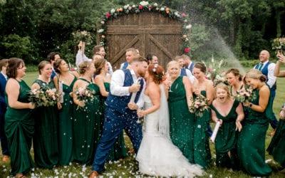 JILL & CHRISTIAN | SAUK VALLEY RESORT | BROOKLYN, MICHIGAN WEDDING