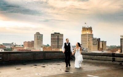 Casey & Denver | Commonwealth Commerce | Jackson, Michigan Wedding