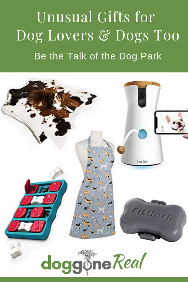 Unusual Gifts for Dog Lovers and Dogs Too - PIN