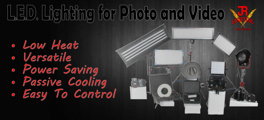 LED Lighting for Photo and Video