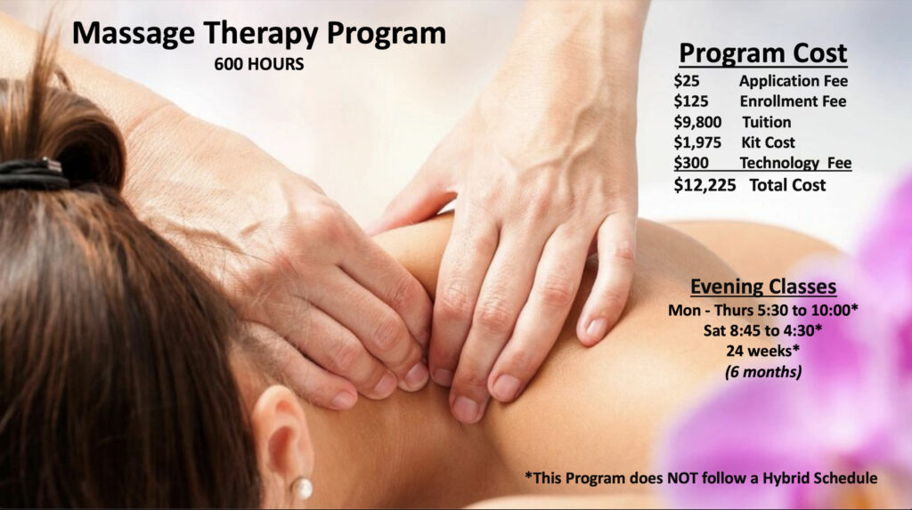 Aveda Massage Therapy School Program Details