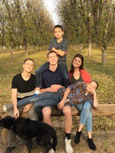 5 kids and a dog