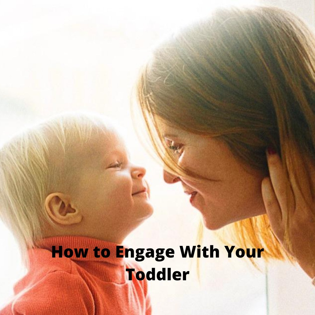mom and toddler face to face smiling