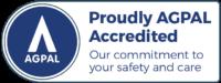 Electronic AGPAL accredited symbol