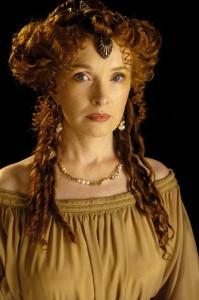 Lindsay Duncan plays Servilia of the Junii