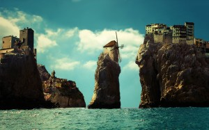 Rock-House-Building-Windmill-Village-HD-Wallpaper