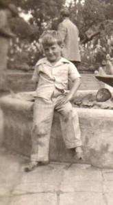 Sam fishing San Diego 1946