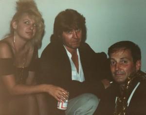 1990 Sam Andrew  Mick Taylor woman