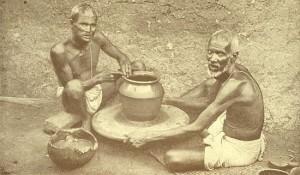 Ceramic potter's wheel