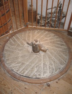Grinding_Stone_(Bed-stone),_Redbournbury_Mill_-_geograph.org.uk_-_1561139