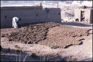 making sun baked mud bricks-rs