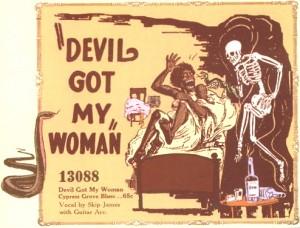 Skip James - Devil Got My Woman Ad