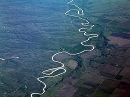 river winding