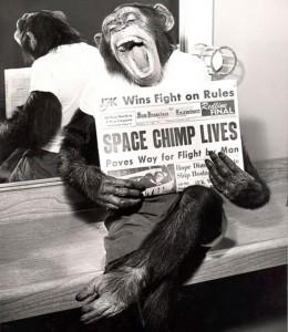 space chimp 1961