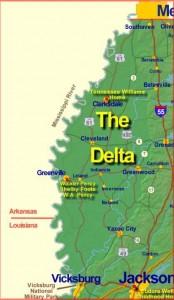 white delta map