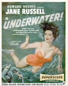 jane russell underwater