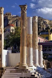 acropolis fr4om monastiraki