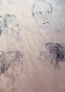 Debbie sketches
