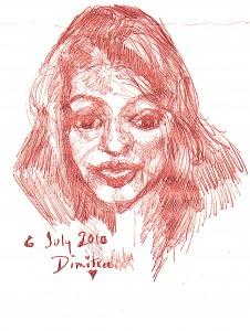 Dimitra July 2010 drawing