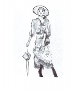 Lilibet Rogers drawing