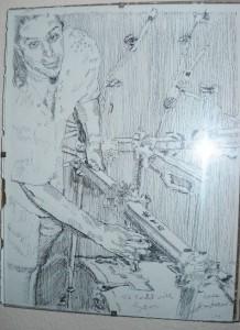 Todd Vinciguerra, drawing