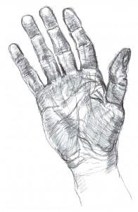 my right hand Jan 2010