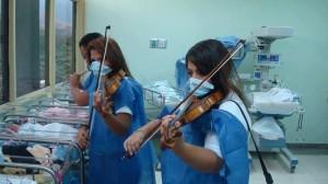 nurse violinists