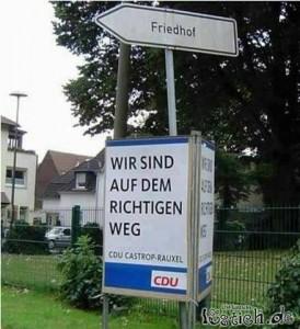 richtigen Weg