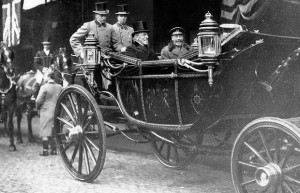 Woodrow Wilson Britain Visit
