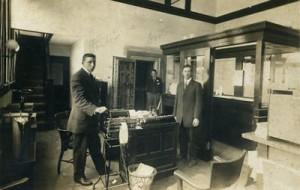 First Bank of San Anselmo, c. 1920.
