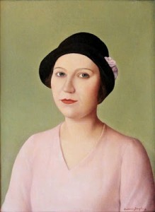 Donghi_Italian_Neoclassical_painter_1897_1963_Woman_in_a_Hat_1931