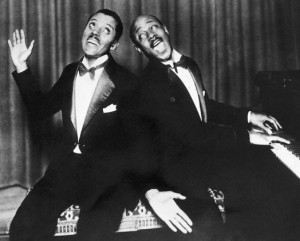 Noble Sissle and Eubie Blake at Piano