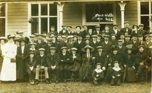 Builth 7 Wells, Park Wells in 1910 - Park Wells waters were meant to have healthy qualities