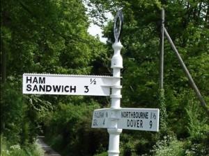 Hawkhurst, Kent 6 ham sandwich