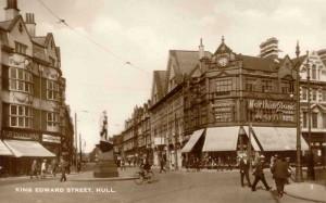 Hull 8 King Edward Street 1930's
