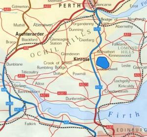 Kinross 1 Location Map