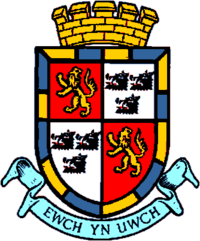 Nantmel 5 Radnorshire coat of arms