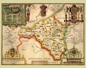 Nantmel 7 old map