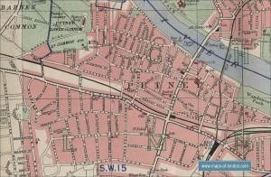 Putney 4 map