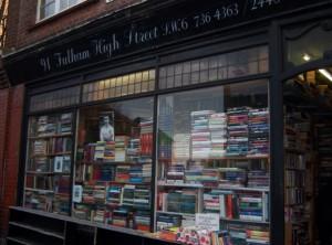 Putney 6 hurlingham books bookshop