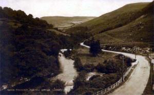 Rhayader 4 Radnorshire, Marteg Bridge 1920's
