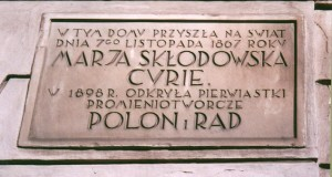 Warsaw - Marie Curie