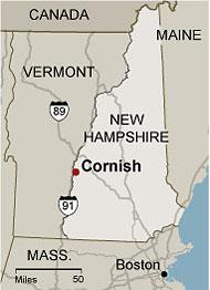 cornish map